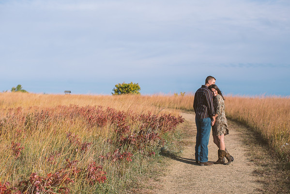 Melanie and Kyle | October, 2013 | Manhattan, KS | autumn