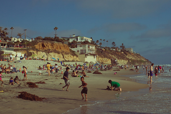 Moonlight State Beach | Summer 2010 | Encinitas, CA